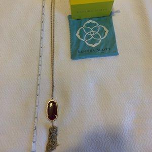 Kendra Scott Jewelry - Kendra Scott Rayne Necklace in Maroon